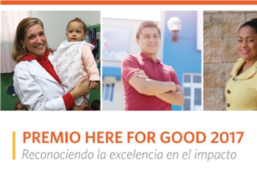 Here For Good Awards 2017: Laureate premia tu impacto social